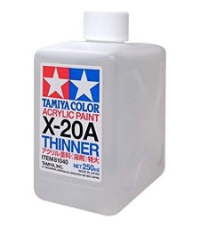 X-20A Acrylic Thinner TAMIYA (250ml)