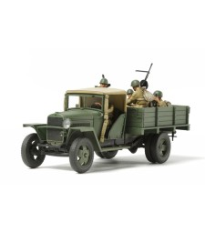 1:48 Russian 1.5Ton Cargo Truck - Model 1941 - 5 figures