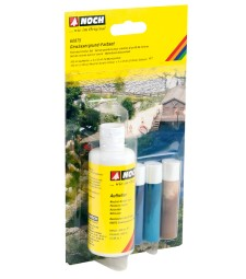 Riverbed Colour Set - 1 x 100 ml, 3 x 10 ml