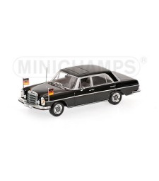 MERCEDES-BENZ 300 SEL 6.3 (W109) - 1970 - WILLY BRANDT - WITH FIGURINE