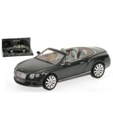 BENTLEY CONTINENTAL GTC - 2011 - GREEN