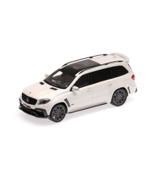 BRABUS 850 WIDESTAR XL BASEDON MERCEDES-AMG GLS 63 - 2017 -PEARL WHITE METALLIC