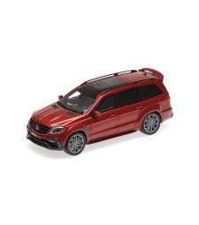 BRABUS 850 WIDESTAR XL BASED ON MERCEDES-AMG GLS 63 – 2017 – RED METALLIC