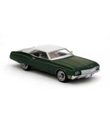 BUICK Riviera Green Metallic / Grey 1970