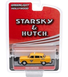Hollywood Special Edition - Starsky and Hutch (1975-79 TV Series) - 1968 Checker Taxi - Metro Cab Co. Solid Pack