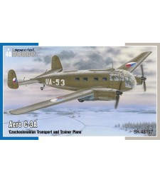 1:48 Aero C-3A  'Czechoslovakian Transport and Trainer Plane'