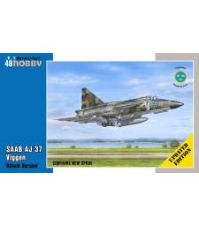 """1:48 SAAB AJ 37 Viggen """"Attack Version"""" - Updated edition"""