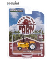 Down on the Farm Series 4 - 1974 Tractor with Open Cab - Yellow and White Solid Pack