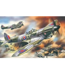 1:48 Spitfire Mk.XVI, WWII British Fighter