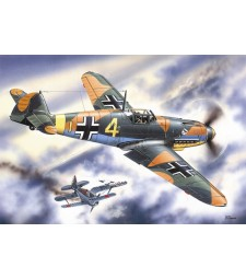 1:48 Messerschmitt Bf 109F-4, WWII German Fighter