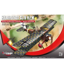 1:48 Halberstadt CL.IV H.F.W.  (Early production)
