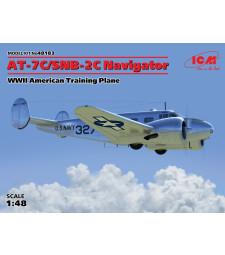 1:48 AT-7C-SNB-2C Navigator, WWII American Training Plane