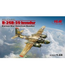 1:48 B-26B-50 Invader, Korean War American Bomber (100% new molds)