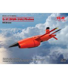 1:48 Q-2C (BQM-34A) Firebee, US Drone2 pcs