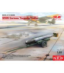 1:48 WWII German Torpedo Trailer (100% new molds)