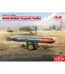 1:48 WWII British Torpedo Trailer (100% new molds)