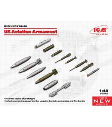 1:48 US Aviation Armament (100% new molds)