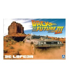 1:24 Back To The Future III DeLorean Road/Rail