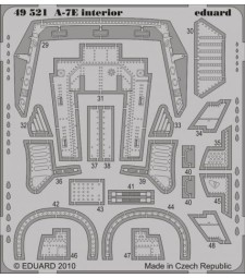 1:48 Photo-etched parts for A-7E Interior S. A. (HOBBY BOSS)