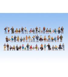 Mega Economy Figures Set - 60 figures, without Benches
