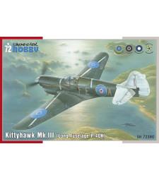 """1:72 Kittyhawk Mk.III """"P-40 K Long Fuselage"""""""