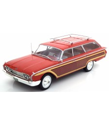 Ford Country Squire  with Roof Railing 1960 red