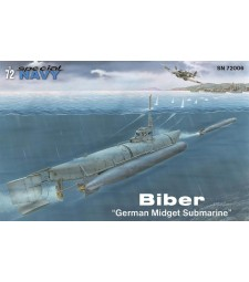"1:72 Biber ""German Midget Submarine"""