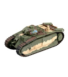 1:72 French Bi Bis Tank SN 337 EURE, May 1940,France 3e DCR