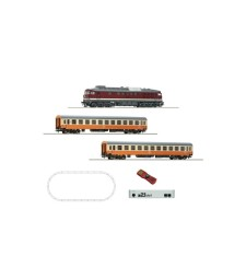 Digital z21® start Set: Diesel locomotive class 132 and passenger train, DR