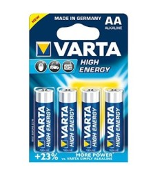 Alkaline battery pack HIGH ENERGY LR 6 AA оп. 4 броя