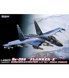 """1:48 Su-35S """"Flanker E"""" Multirole Fighter Air to Surface Version"""
