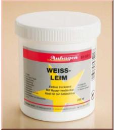 White glue - soluble