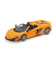 MCLAREN 675LT SPIDER - MCLAREN ORANGE