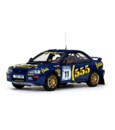Subaru Impreza 555 - #10 R.Burns/R.Reid - Rally of New Zealand 1994