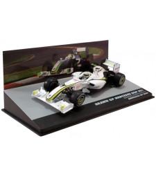 BRAWN GP MERCEDES BGP 001 BARRICHELLO P3 AUSTRALIA GP 2009
