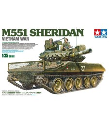 1:35 U.S. M551 Sheridan (Vietnam War) with Crew - 3 figures