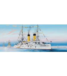 1:350 Russian Navy Tsesarevich Battleship 1904