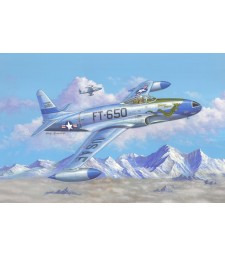 1:48 F-80C Shooting Star fighter