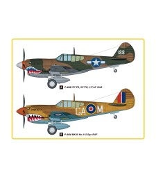 1:48 P-40M Kitty Hawk Fighter