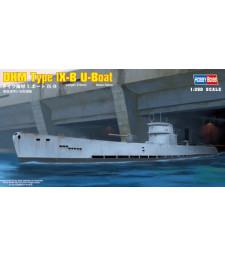 1:350 DKM Type lX-B U-Boat