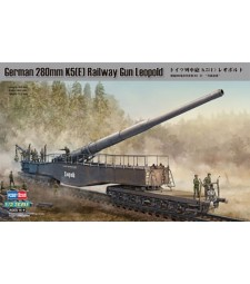 1:72 German 280mm K5(E) Railway Gun Leopold