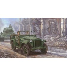 1:35 Soviet GAZ-67B Military Vehicles