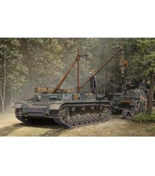 1:35 German Bergepanzer IV Recovery Vehicle