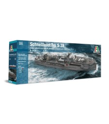 1:35 TYP S-38 Schnellboot with Bofors