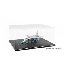 QM Plastic Transparent Case 1:72/1:48/1:18/1:24/1:35 (316x276x136 mm)