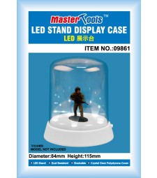 Roundtop Display Case - LED84mm x 115mm