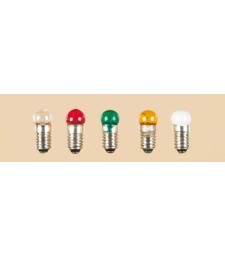 1 lamp with screw socket clear single Round E 5,5 3,5 V 0,20 A