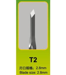 Master Tools Chisel T22,8 x 2,8mm, Diamond Tip