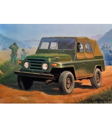1:35 Chinese BJ212 Military Jeep