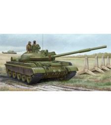 1:35 Russian T-62 BDD Mod.1984 (Mod.1962 modification) - with 3 figures